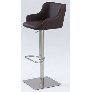 Greysen Adjustable Height Bar Stool by Wa..