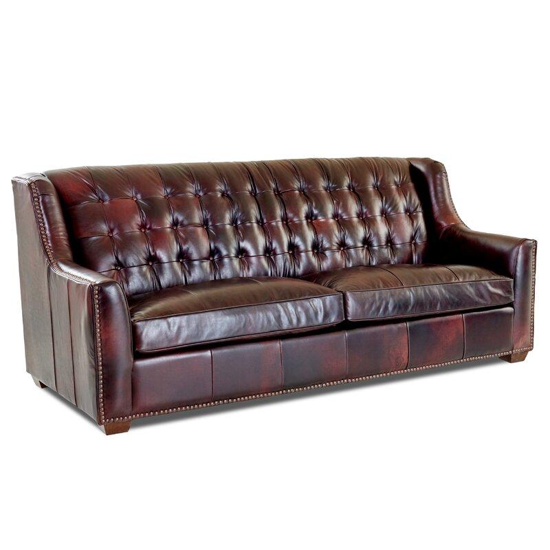 Birch Lane Heritage Leather Sofa