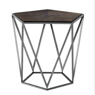 Pentagon End Table