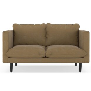 Courtemanche Micro Suede Loveseat by Foundry Select