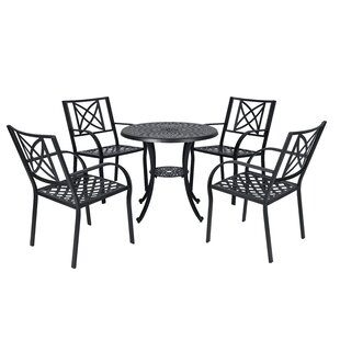 Kelty 5 Piece Dining Set by Charlton Home