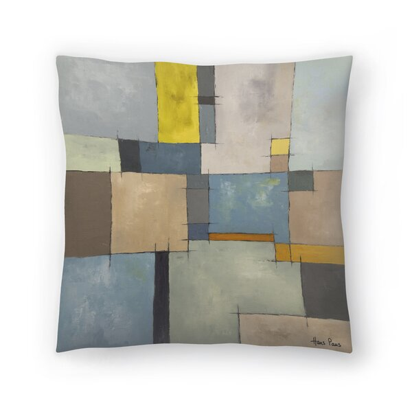 East Urban Home Hans Paus Abstract 11 Throw Pillow Wayfair