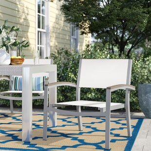 Hillard Teak Patio Chair (Set of 2)