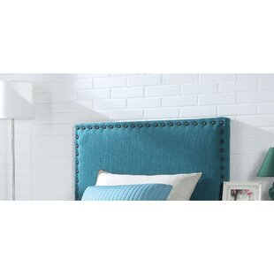 Reviews Westerville Full Upholstered Panel Headboard by Winston Porter