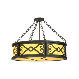 Meyda Tiffany Donya 4-Light Inverted Pendant
