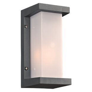 Ebern Designs Lought 1-Light Outdoor Flush Mount
