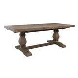 Gertrude Extendable Solid Wood Dining Table by Lark Manor