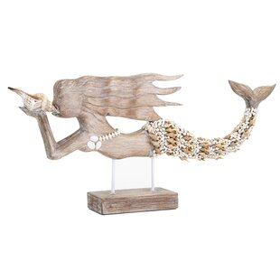 Millside Mosaic Shell Mermaid Figurine