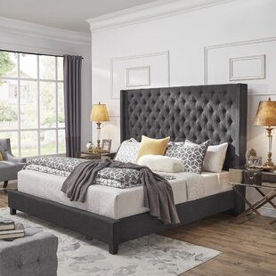Read Reviews Borchers Upholstered Panel Bed by Three Posts Reviews (2019) & Buyer's Guide