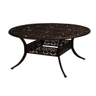 Safford Aluminum Dining Table by World Menagerie No Copoun