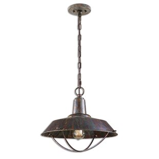 Breakwater Bay Lamm 1-Light Dome Pendant