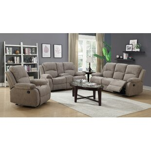 Winston Porter Berrios Reclining Configurable Living Room Set