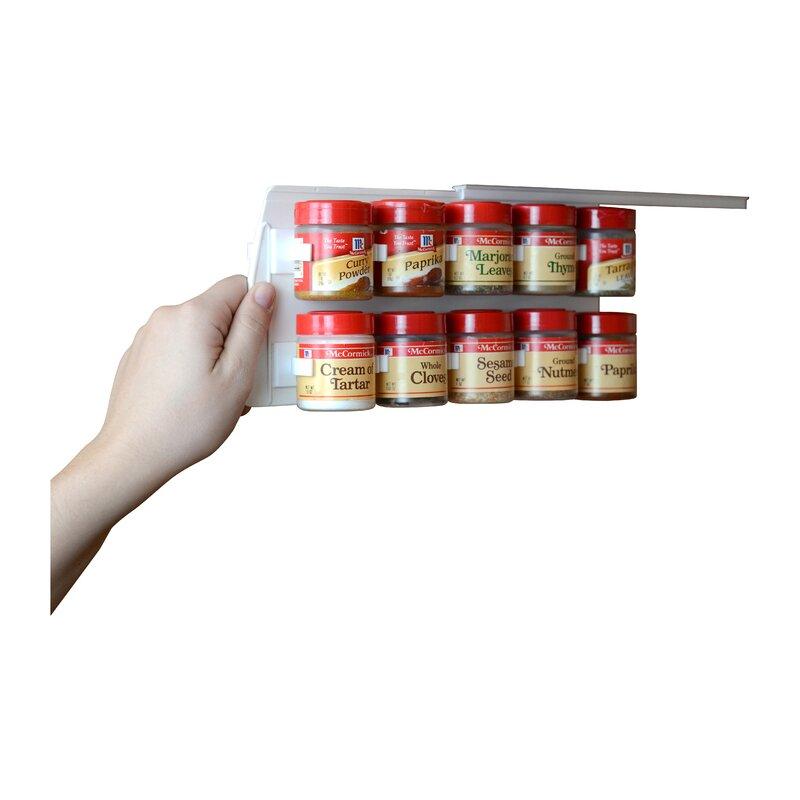 Rebrilliant Clip Cabinet 20 Jar Spice Rack Amp Reviews Wayfair