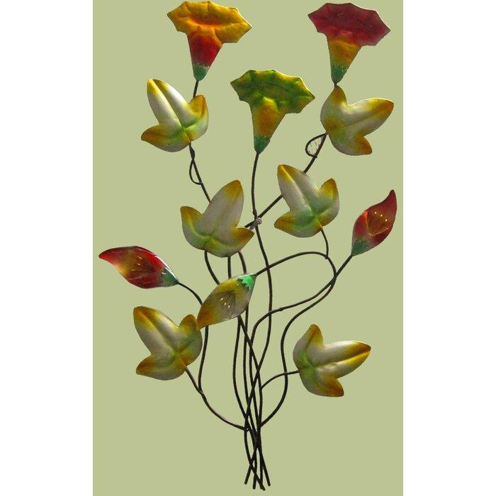 Pretty Metal Flower Wall Decor Images - Wall Art Design ...