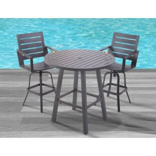 Searching for Moralez 3 Piece Bar Set Look & reviews