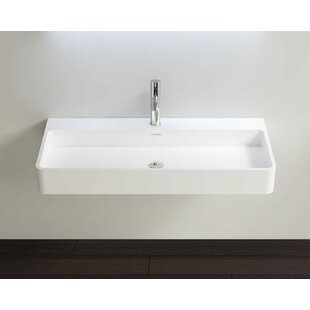 Looking for Polymarble 39 Wall Mount Bathroom Sink with Overflow By Badeloft