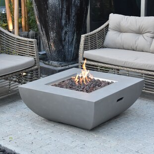 Noe Concrete Propane Fire Pit Table By Sol 72 Outdoor