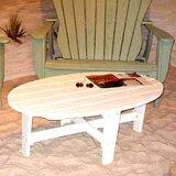 Wave Wood Coffee Table