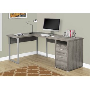 Darcio 2 Drawer L-Shape Corner Desk
