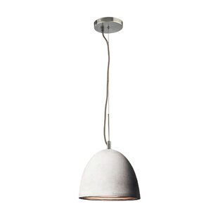 Brayden Studio Ruggles 1-Light Bell Pendant