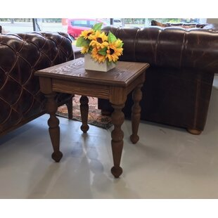 Inexpensive Bookout End Table by Darby Home Co