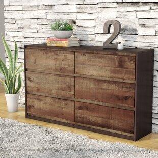 Reviews Taumsauk 6 Drawer Double Dresser by Trent Austin Design