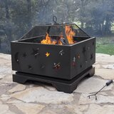 Thunderbolt Steel Wood Burning Fire Pit