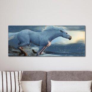 Running Horse  Graphic Art Print 0b1c05249