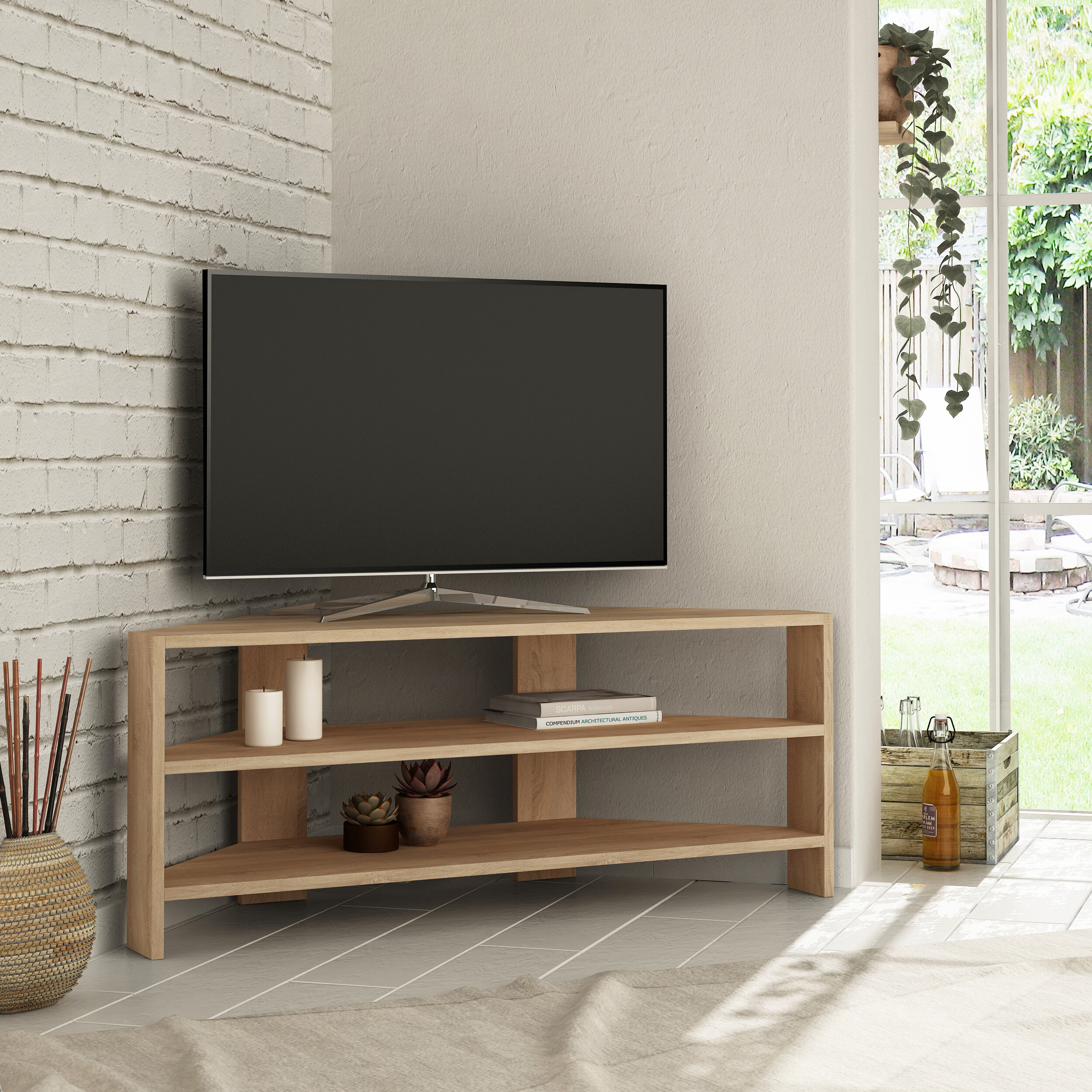 Ebern Designs Siple Tv Stand For Tvs Up To 50 Reviews Wayfair