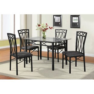 Nessler 5 Piece Dining Set