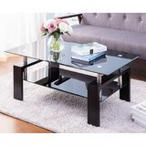 Maceus 4 Legs Nesting Tables with Storage