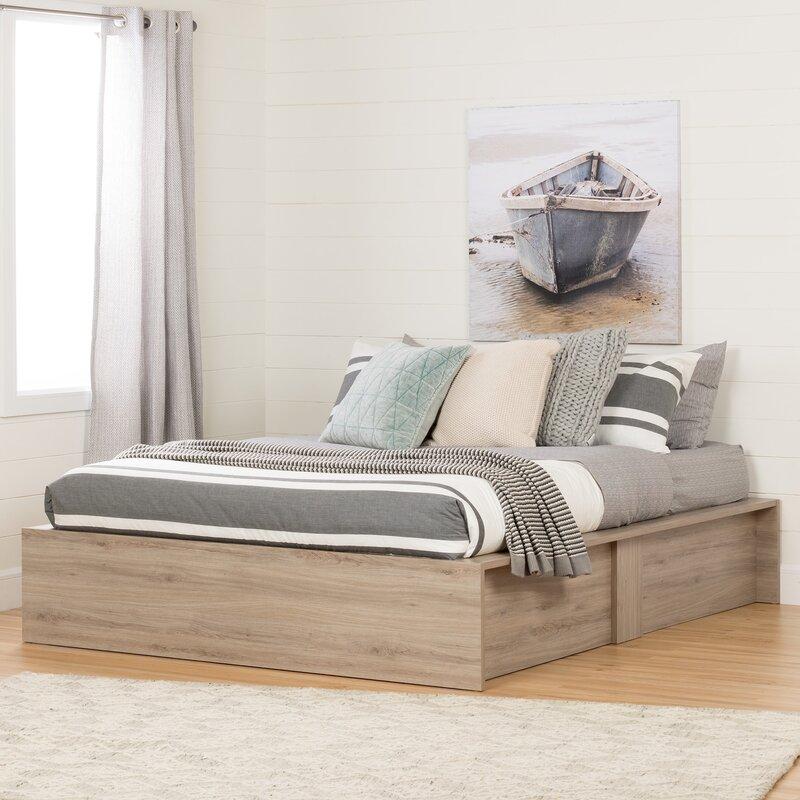 557727bb51c9 South Shore Fusion Queen Storage Platform Bed & Reviews | Wayfair