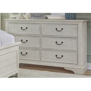 Best Price Trenton 6 Drawer Double Dresser by Rosecliff Heights