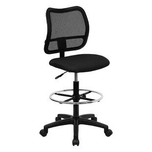Mid-Back Mesh Drafting Desk Chair