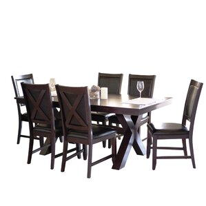 Linglestown 7 Piece Dining Set by Red Barrel Studio