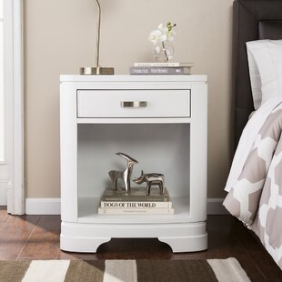 Affordable Cuccia 1 Drawer Nightstand by Red Barrel Studio