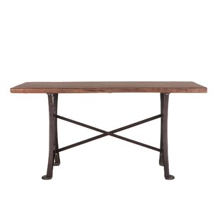 Guinn Counter Height Solid Wood Dining Table by Williston Forge