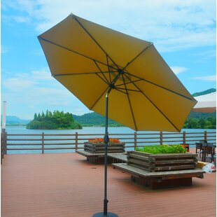 Darby Home Co Eleonore Lighted 9' Market Umbrella