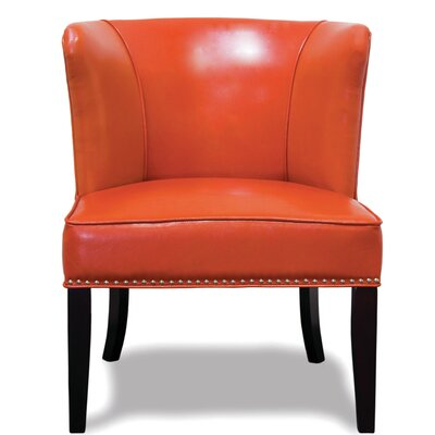 Faux Leather Orange Accent Chairs You Ll Love In 2020