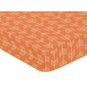 Arrow Fitted Crib Sheet