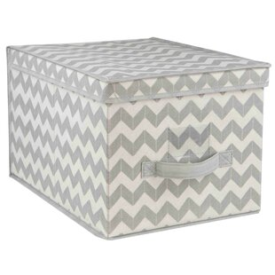 Find Chevron Box (Set of 2) By Home Basics