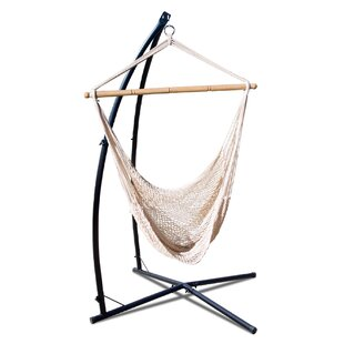 Erithon Summit Combo Net Chair Hammock with Stand by Freeport Park