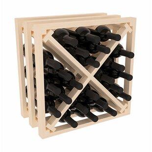Karnes Pine Lattice X-Cube 24 Bottle Tabl..