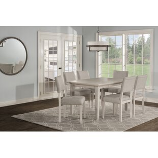 Jill 7 Extendable Piece Dining Set