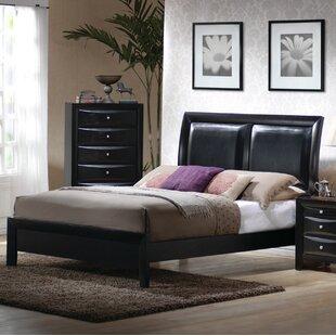 Latitude Run Borek Upholstered Panel Bed