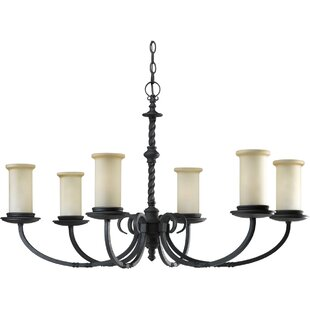 Astoria Grand Jakes 6-Light Shaded Chandelier