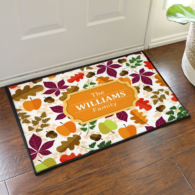 Fall Woods Doormat