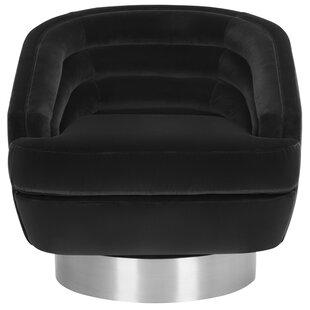 Hilley Swivel Barrel Chair By Orren Ellis