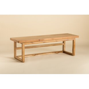 Olivia Wood Bench by Ebb and Flow Furniture
