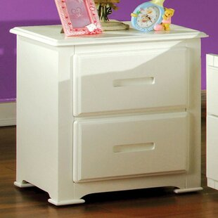 Check Prices Saldivar 2 Drawer Nightstand by Harriet Bee Reviews (2019) & Buyer's Guide